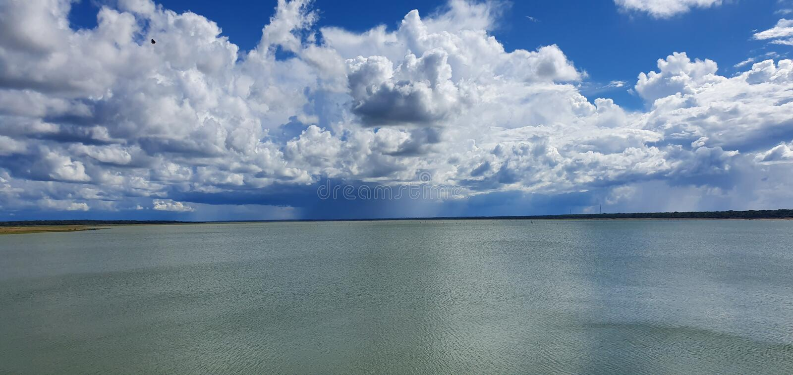 Nature Sky And Water stock image