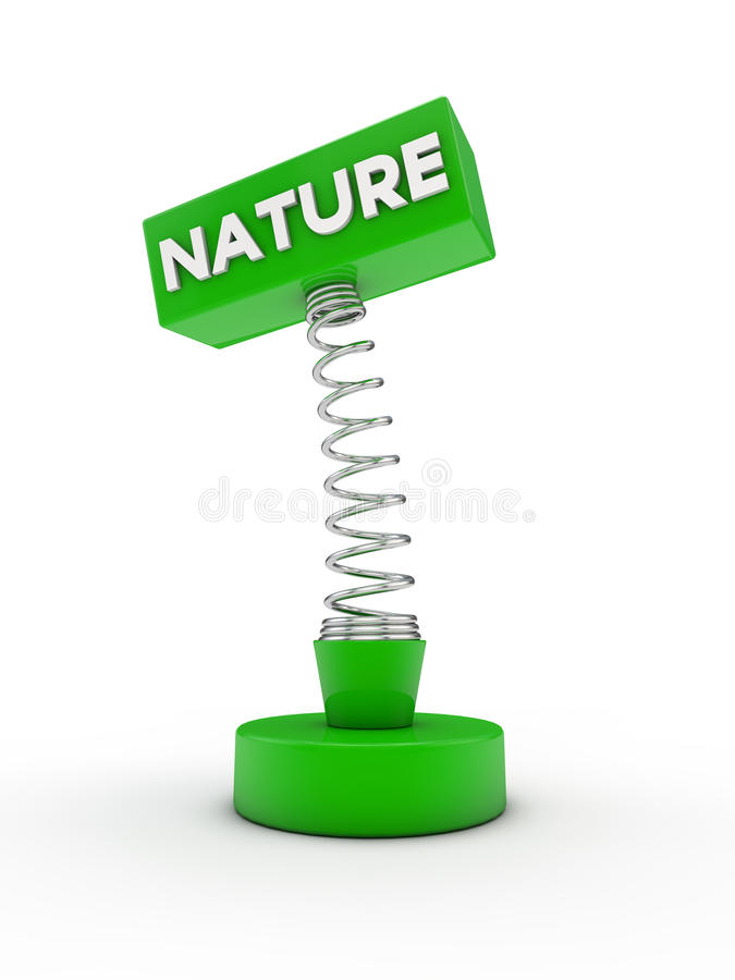 Nature On A Spring Stock Images
