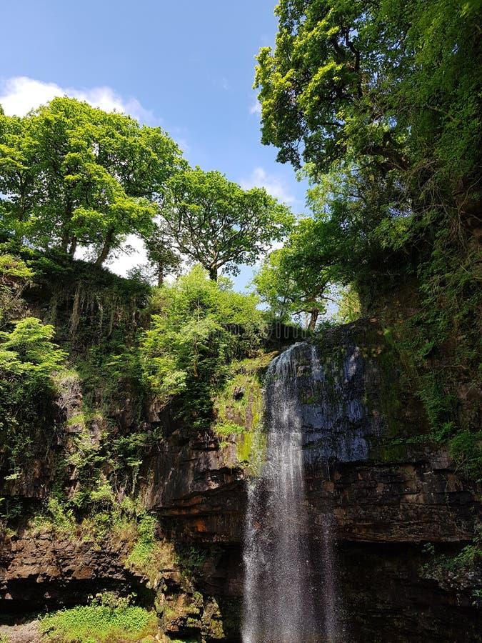 Waterfall beauty stock image