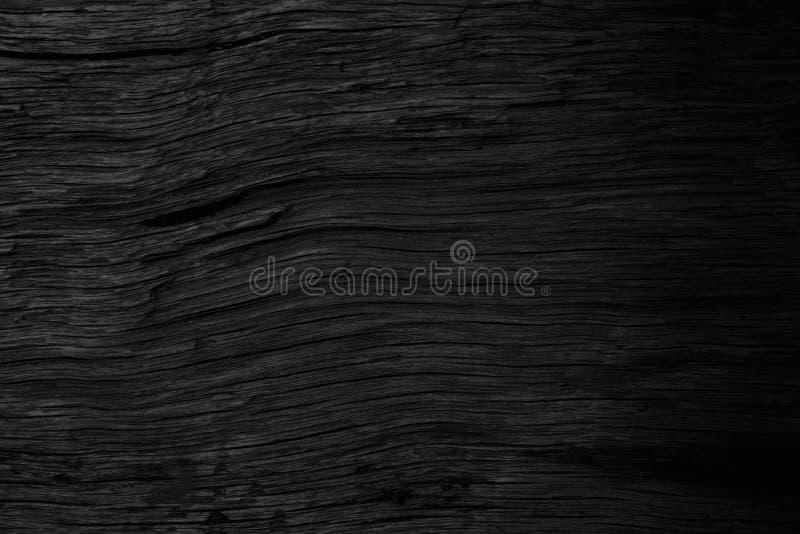 Nature supérieure de fond mur gris en bois en bois noir de modèle de vieux, planche abstraite superficielle par les agents photos stock