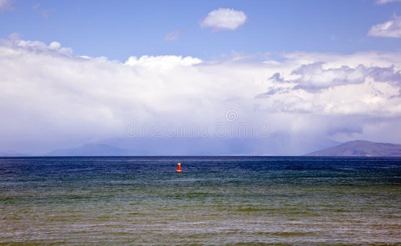 Nature sur le lac Ohrid macedonia image stock