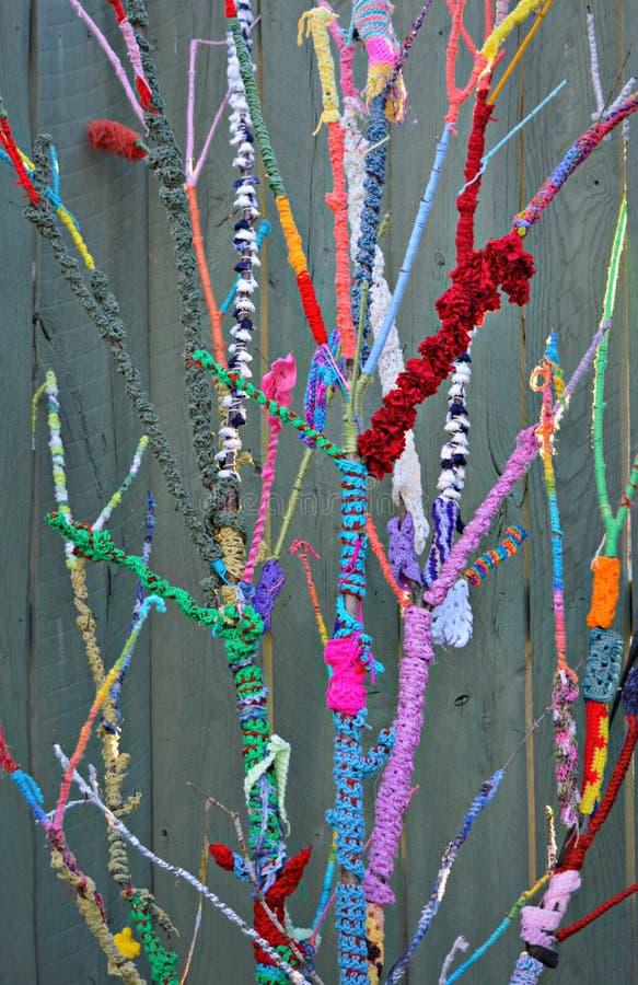 Nature tricotée image stock