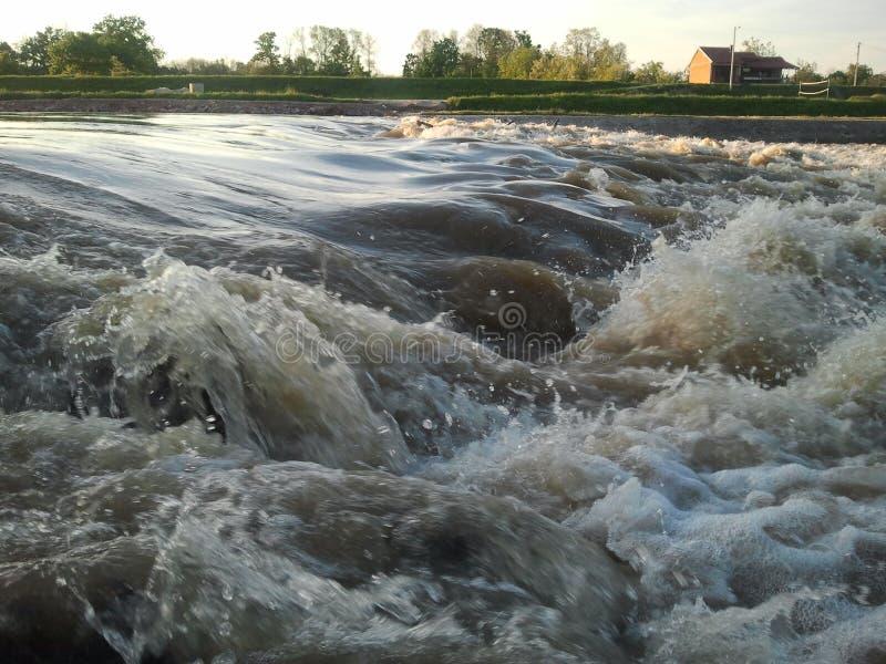 Nature water river kolubara coast stock images