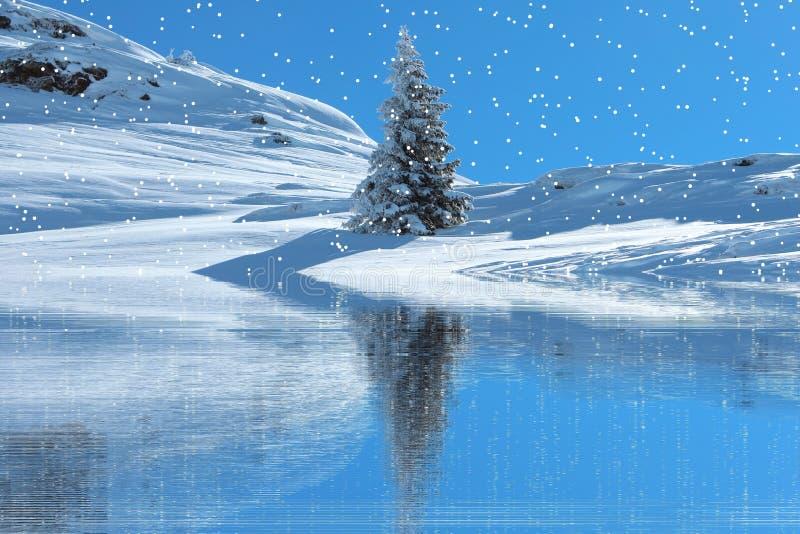 Nature, Water, Sky, Winter stock image