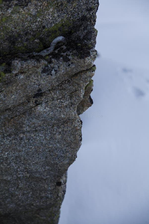Naturen av höga berg arkivfoton