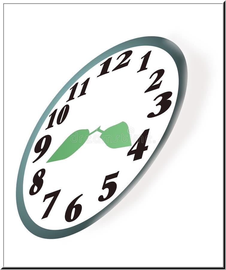 Natures Clock Stock Image