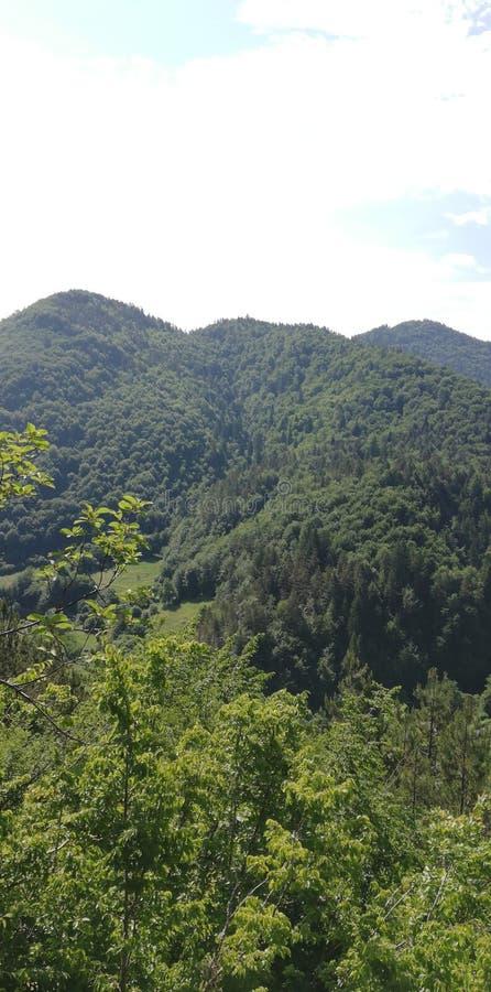 A natureza bonita de Bulg?ria fotografia de stock