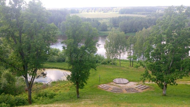 Natureza de Lituânia fotos de stock royalty free