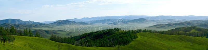 A natureza de Mongólia foto de stock