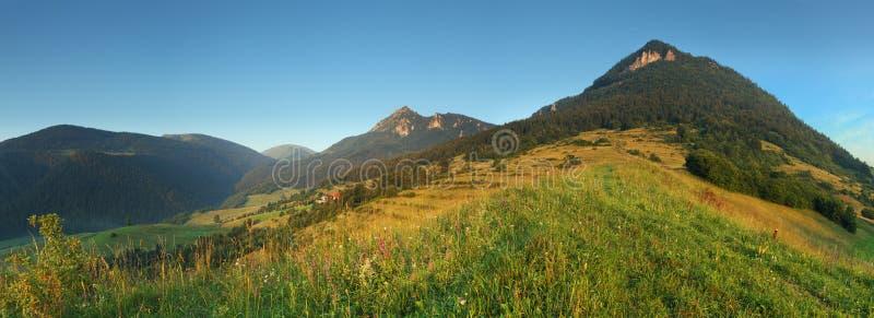 Natureza de Slovakia - Terchova fotografia de stock royalty free