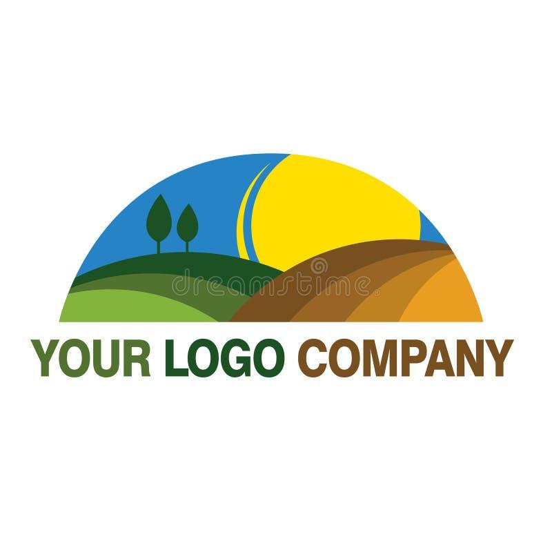 Natureza do logotipo imagem de stock royalty free