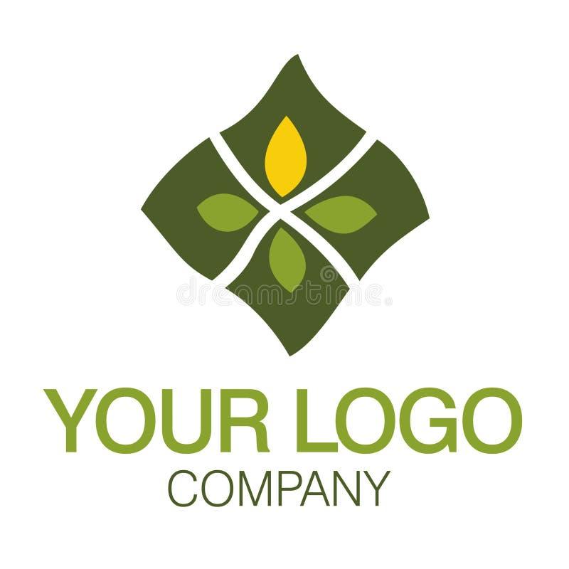 Natureza do logotipo ilustração royalty free
