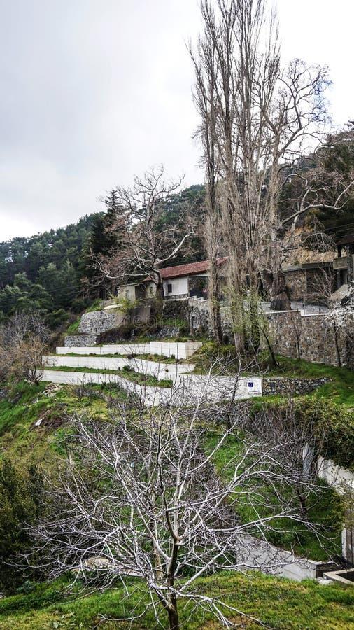 A natureza dos lugares pitorescos de Chipre imagem de stock