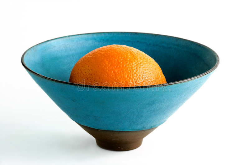 Natureza e laranja fotografia de stock