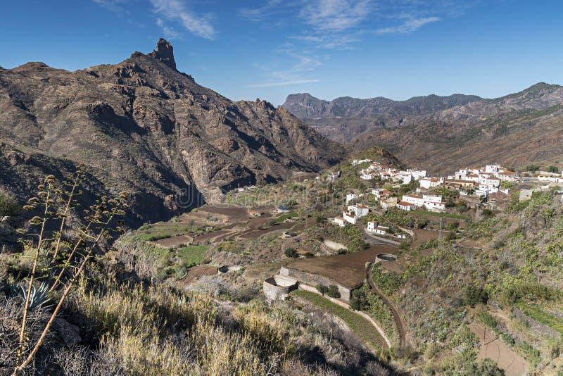 Natureza e paisagem das Ilhas Canárias imagens de stock
