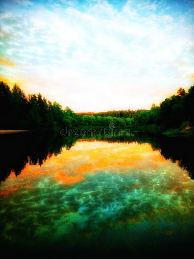 A natureza fala com o silêncio fotografia de stock royalty free