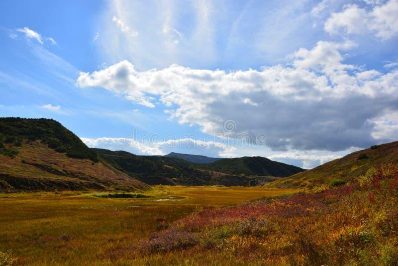 Natureza intacto de Kamchatka imagens de stock