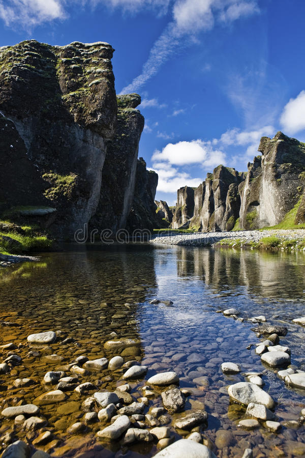 Natureza islandêsa imagem de stock