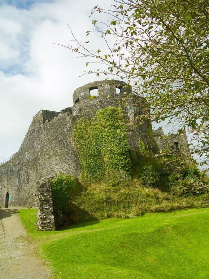 Natureza no lado dos castelos fotografia de stock royalty free