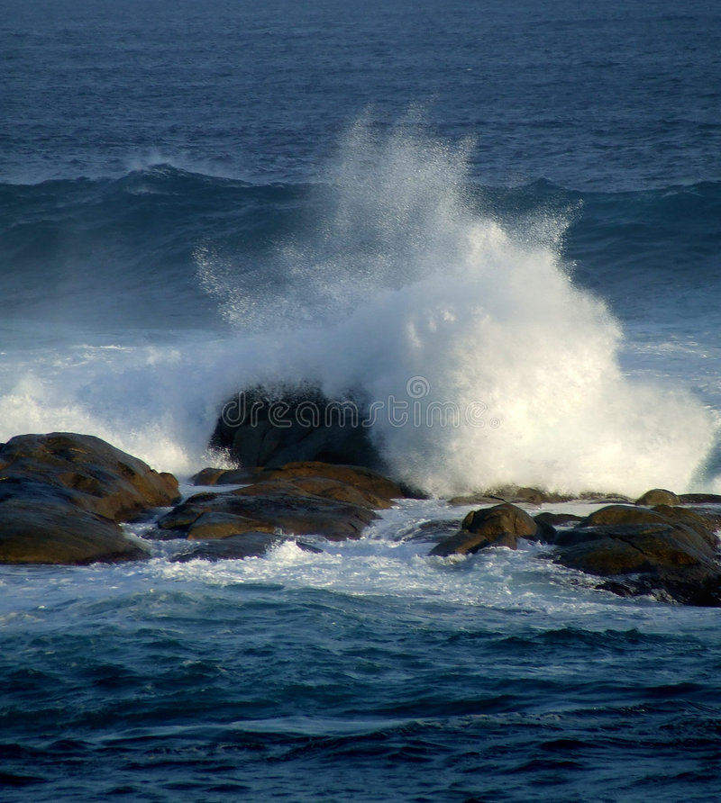 Natureza - oceano foto de stock royalty free