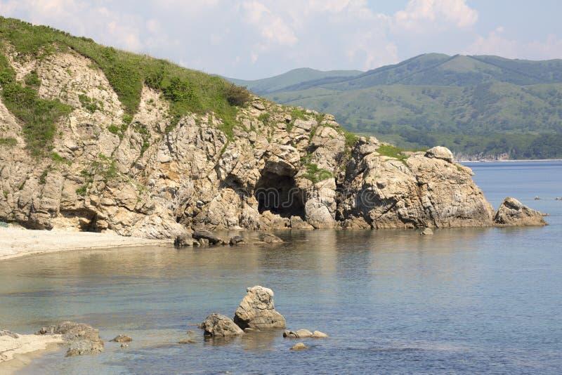 Natureza selvagem de Primorsky Krai foto de stock royalty free