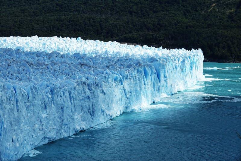 A natureza surpreendente de Perito Moreno Glacier fotografia de stock