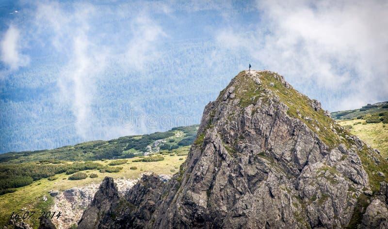 Natureza surpreendente do cenário búlgaro imagens de stock