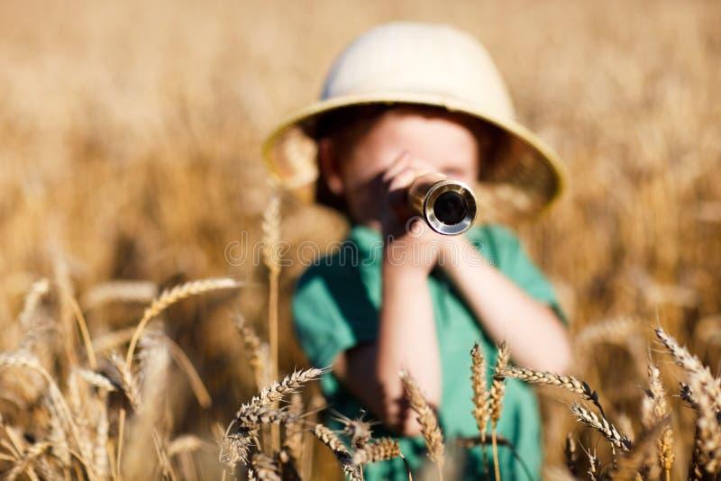 Naturforscher lizenzfreies stockbild