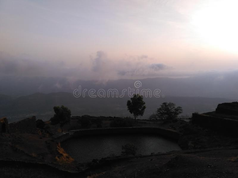 Naturfotografi, Pune, MAHARASHTRA INDIEN royaltyfria bilder