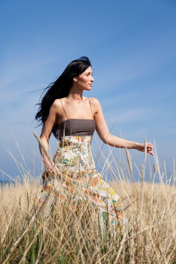 Naturfrau lizenzfreies stockfoto