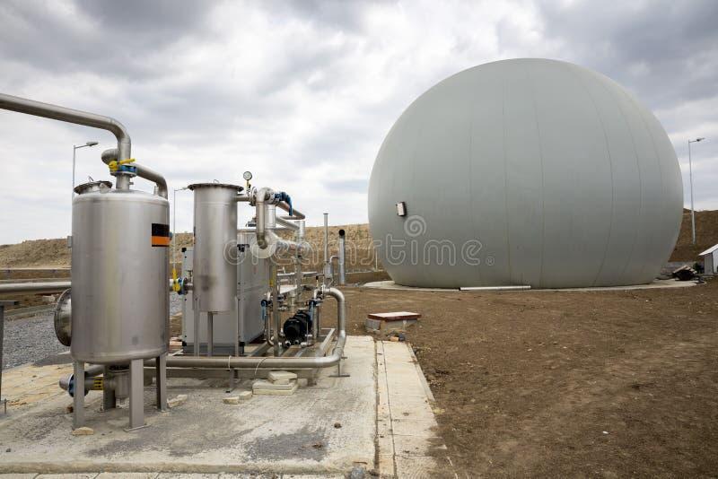 Naturgasbehållare royaltyfri foto