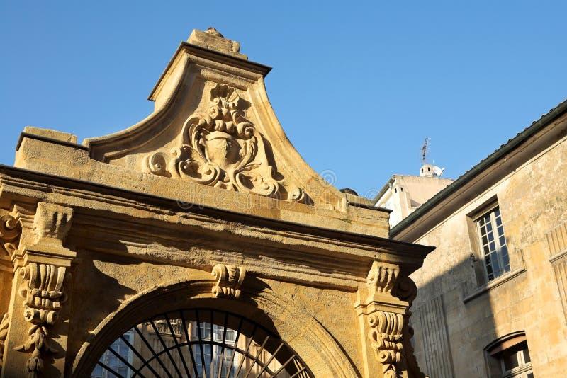 Naturgeschichte-Museum in Aix-en-Provence stockfotos