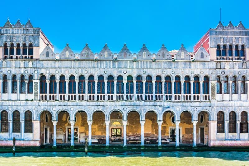 Naturgeschichtemuseum in Venedig Italien stockfotos