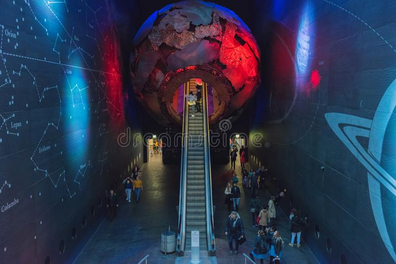 Naturgeschichtliches Museum - London stockbild
