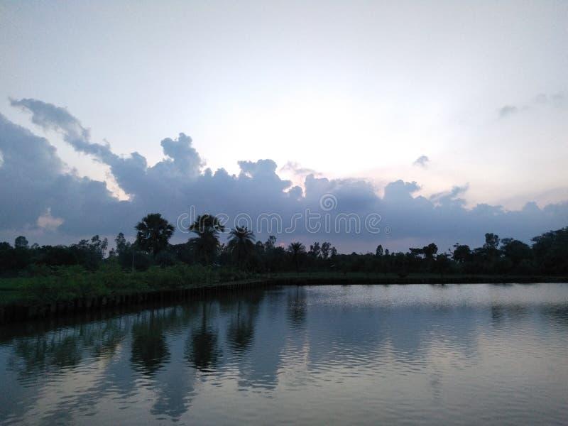 Naturhimmel fotografering för bildbyråer