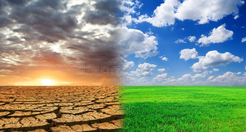Naturkatastrophe lizenzfreies stockbild