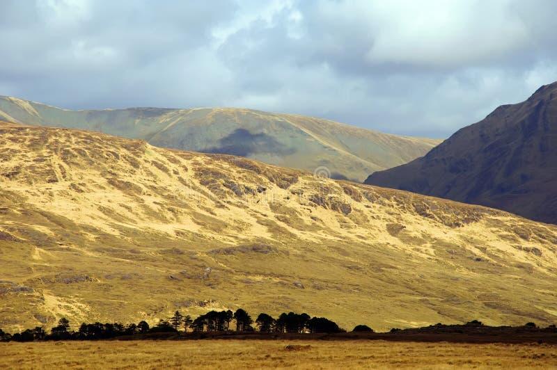 Naturlandschaft vom Nordwesten von Irland lizenzfreie stockbilder