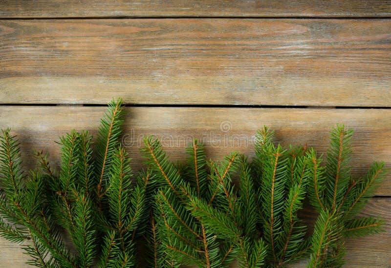 Naturlig bakgrund för jul arkivfoton