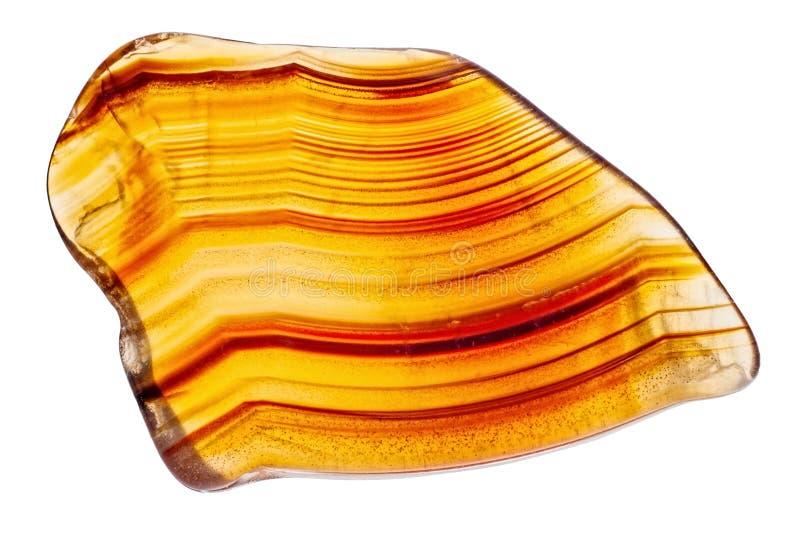 Naturlig brun agat arkivbilder