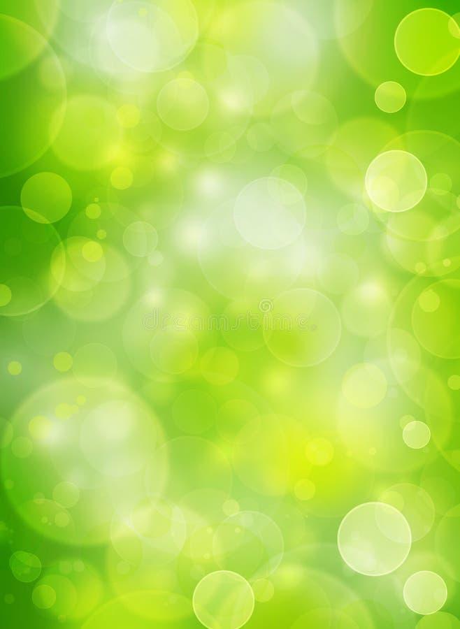 Naturlig bubblabakgrund royaltyfri illustrationer