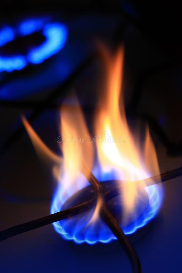 naturlig burning gas royaltyfri fotografi