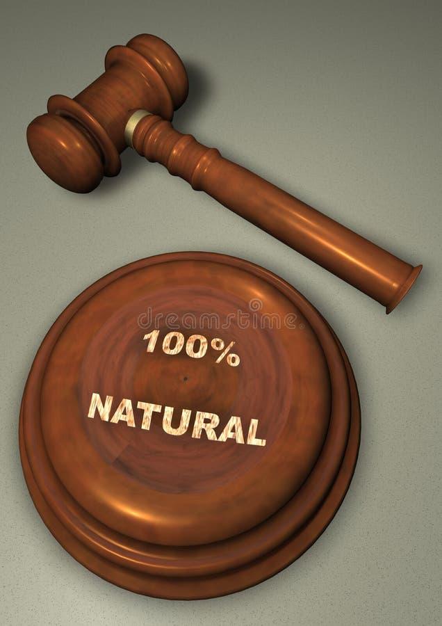 naturlig gavel 100 stock illustrationer