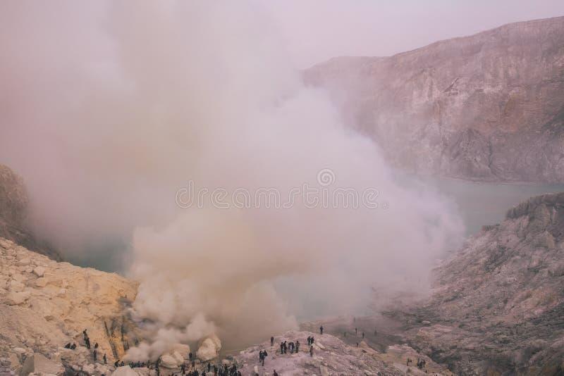 naturlig geyser royaltyfri bild