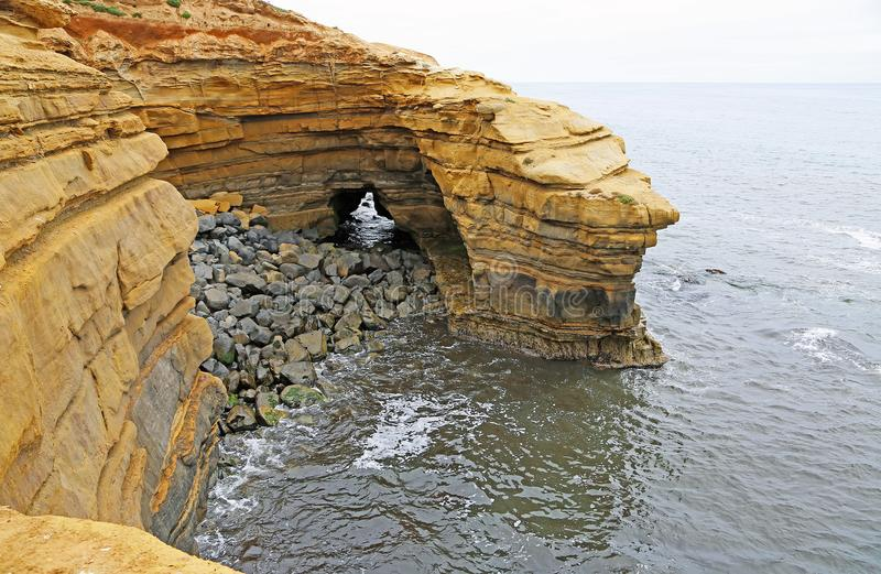 naturlig grotta royaltyfri foto
