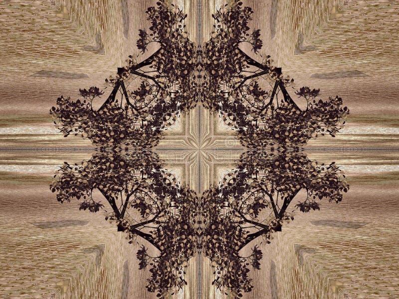 Naturlig kalejdoskop royaltyfri illustrationer