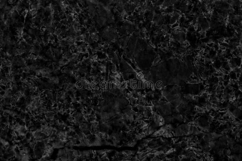 Naturlig modell för svart marmor för bakgrund stock illustrationer
