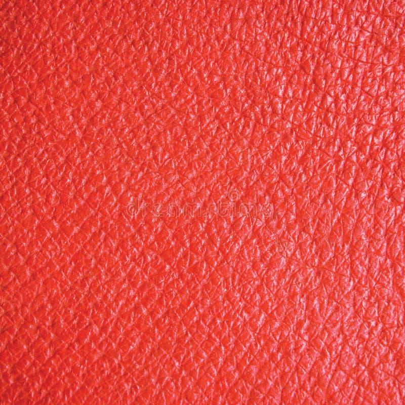 naturlig röd textur för bakgrundslädermakro royaltyfri foto