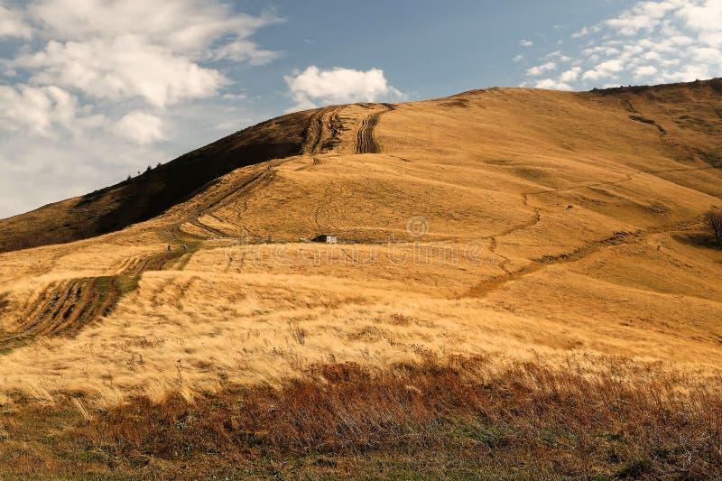 naturlig sammansättning Sikter av berget Topas royaltyfri fotografi