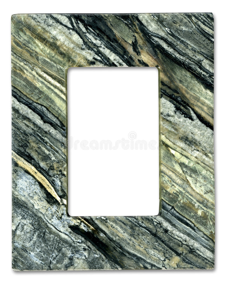 naturlig sten för ram arkivbild