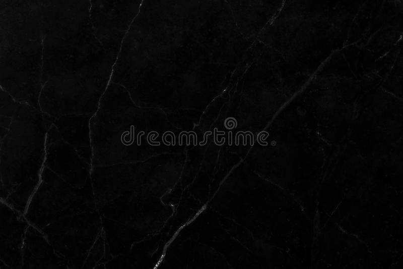 Naturlig svart marmor för texturer med härliga modeller royaltyfri bild